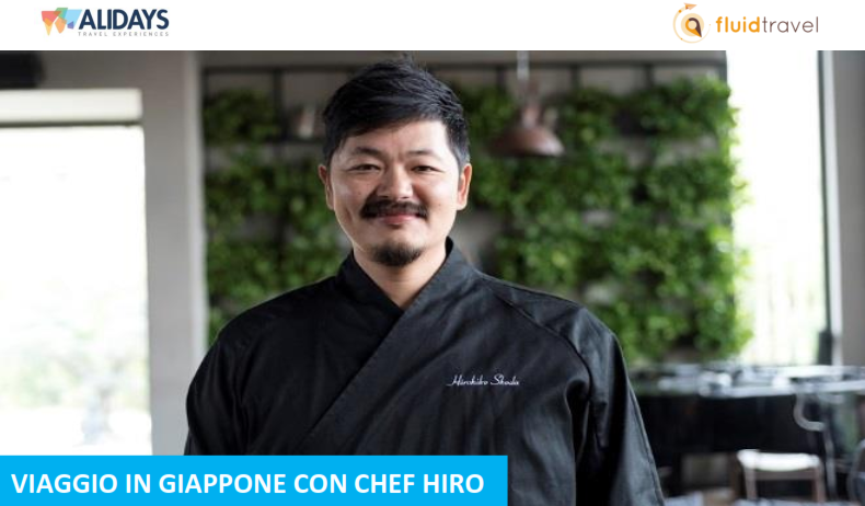 In Giappone con chef Hiro: un tour guidato alla scoperta della cultura, delle tradizioni e dalla cucina giapponese