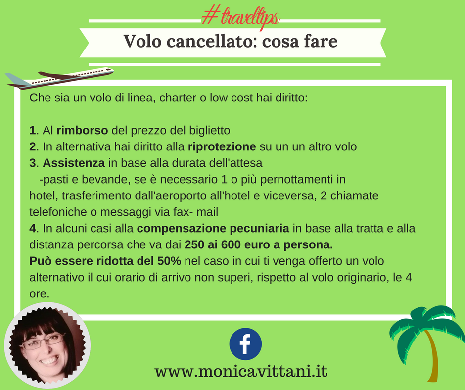 Travel Tips: Volo cancellato cosa fare