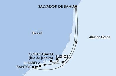 Msc Seaview Capodanno 2018 Sud America
