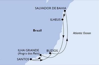 Msc Seaview Brasile