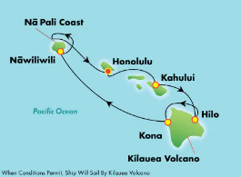 Crociera alle Hawaii - America- Norwegian Cruise Line
